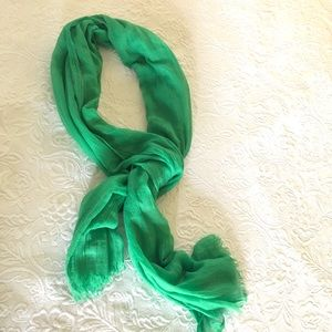 Accessories - Spring Scarf Kelly Green